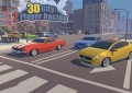 3D City: 2 Player Racing