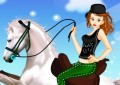 Horse Ride Girl Dress Up