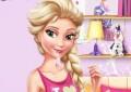 Elsa a Barbie na slep�m rande