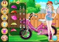 Cute Girl Bicycle Lover