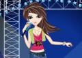 Singing girl...