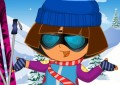 Dora Skiing Dress Up